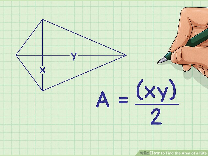 3 Ways To Find The Area Of A Kite
