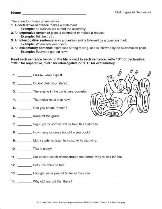 6th Grade Reading