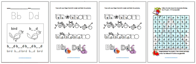 Six Sets Dyslexia Worksheets – Kinesthetic And Dyslexic Learning