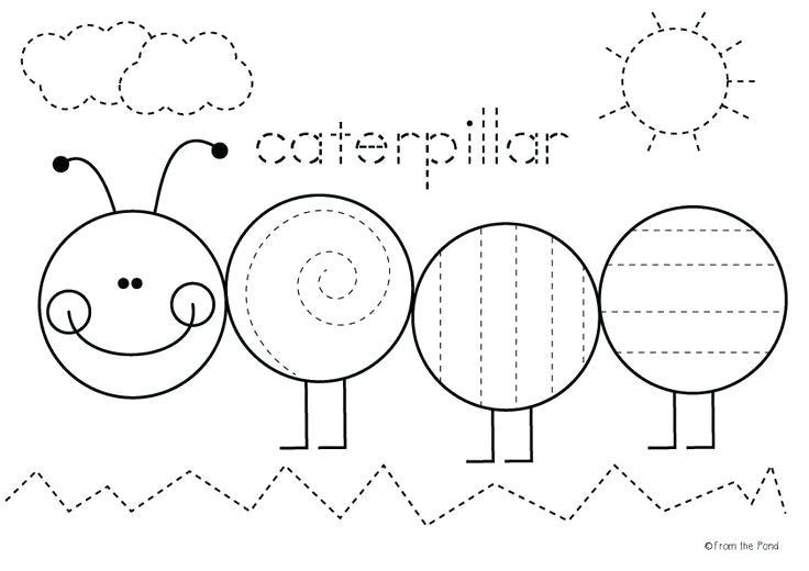 Best Images Of Very Hungry Caterpillar Worksheet Kindergarten