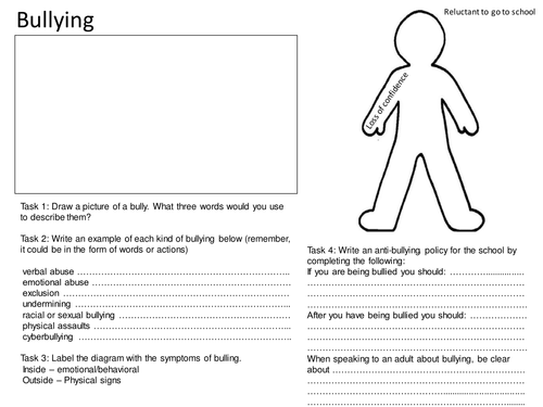 Bullying Worksheets Middle School New Solving Systems Of Equations