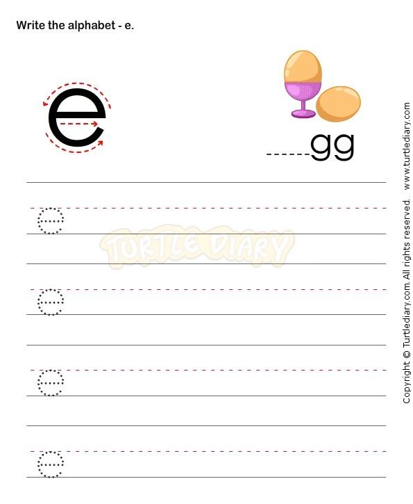 Small Letters E