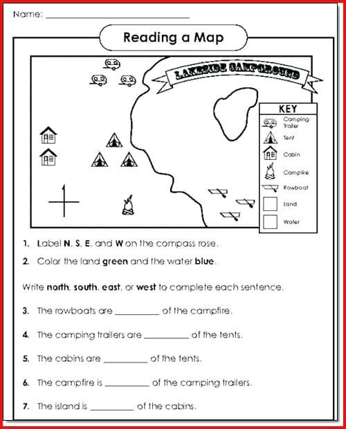 1st Grade Map Skills Worksheets – Spieleaffe Info