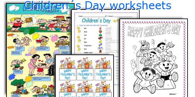 Children´s Day Worksheets