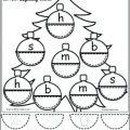 Free Christmas Kindergarten Worksheets