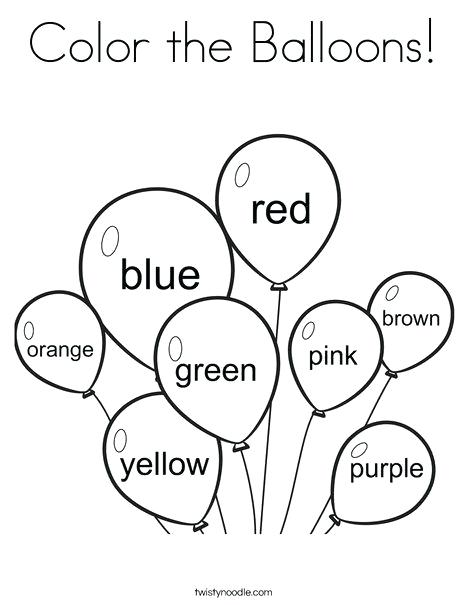 Coloring Activities For Preschoolers 3 Year Old Printable