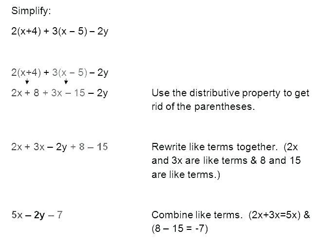 Commutative Multiplication Worksheets Easy Distributive Property
