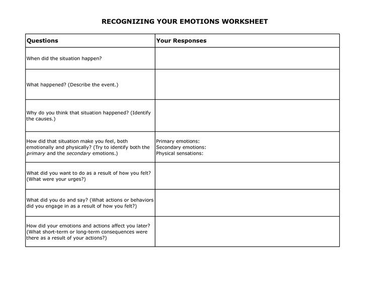 Dbt Emotion Regulation Worksheets Free Dbt Worksheets Free