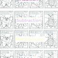 Division Coloring Worksheets 4th Grade