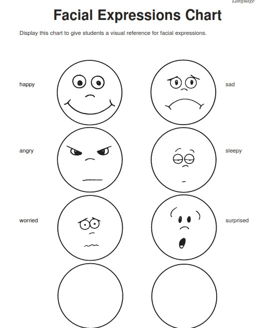 4 Drawing Worksheets Emotion For Free Download On Ayoqq Org