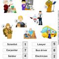 Occupation Worksheets For Preschoolers