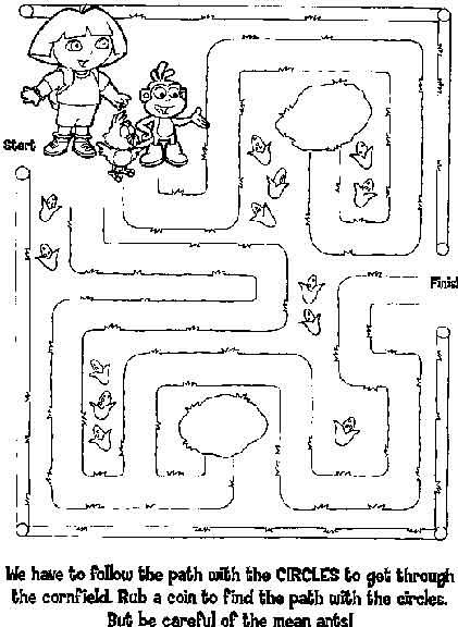 Free Printable Mazes For Kids