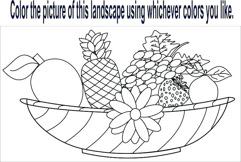 Esl Coloring Worksheets Fruit Pages Page Free Pdf – Benneedham Info