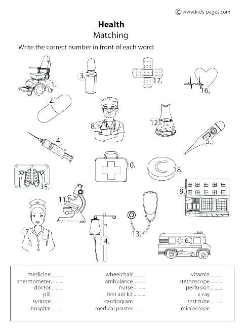 First Aid For Kids Worksheets Children Worksheet Maker Spelling
