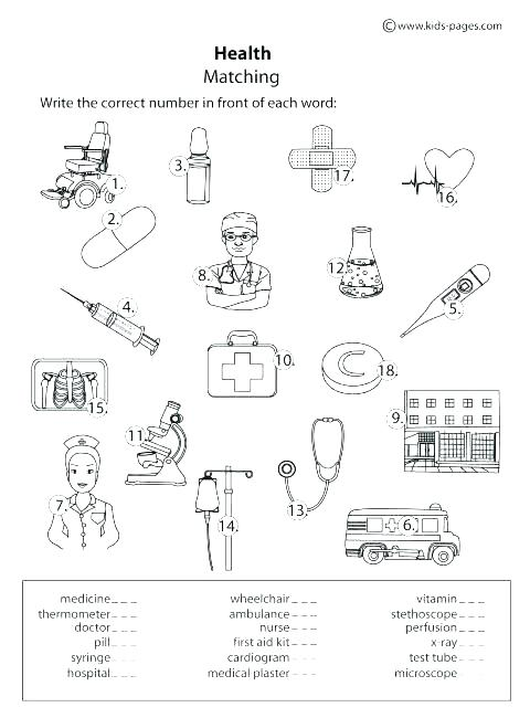 First Aid For Kids Worksheets – Mbabusinessdegree Club
