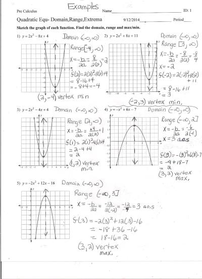 From Linear To Quadratic Worksheet Answers The Best Worksheets