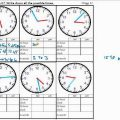 Time Around The World Worksheets