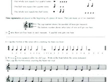 Ideas About Free Music Worksheets R Middle School Theory