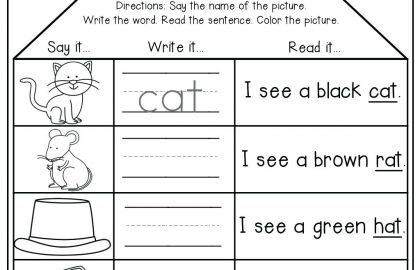 Kindergarten Writing Sentences Worksheets Sweater Worksheet