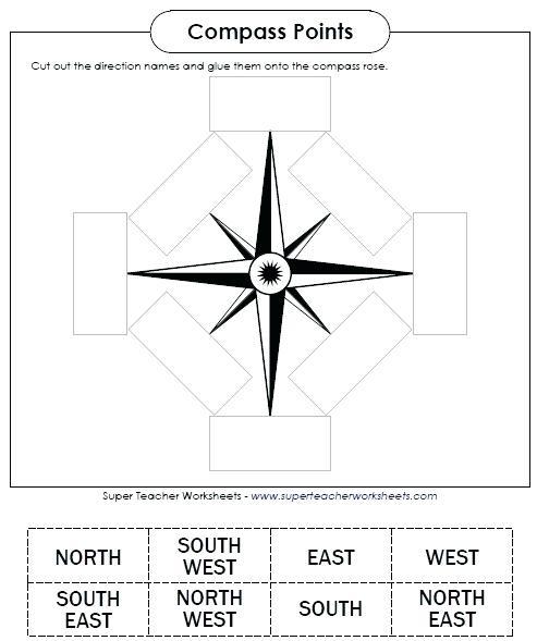 Map Skills Worksheets 5th Grade Free