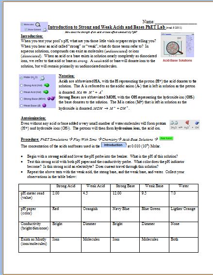Phet Isotopes And Atomic Mass Worksheet Answer Phet Isotopes And