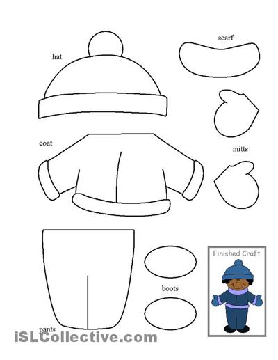 Printable Kindergarten Cut And Paste Worksheets