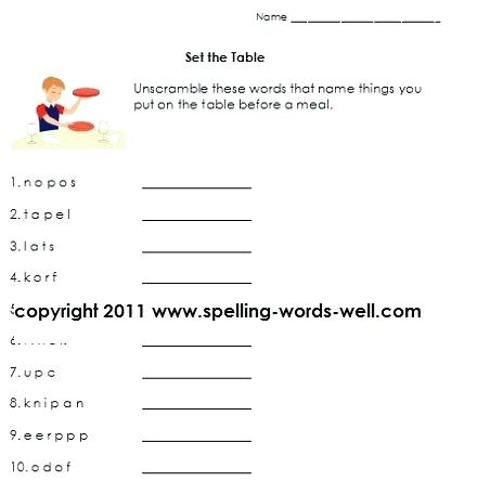 Language Arts Worksheets 6th Grade