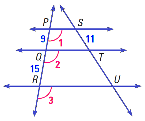 Proportions And Similar Triangles Worksheet