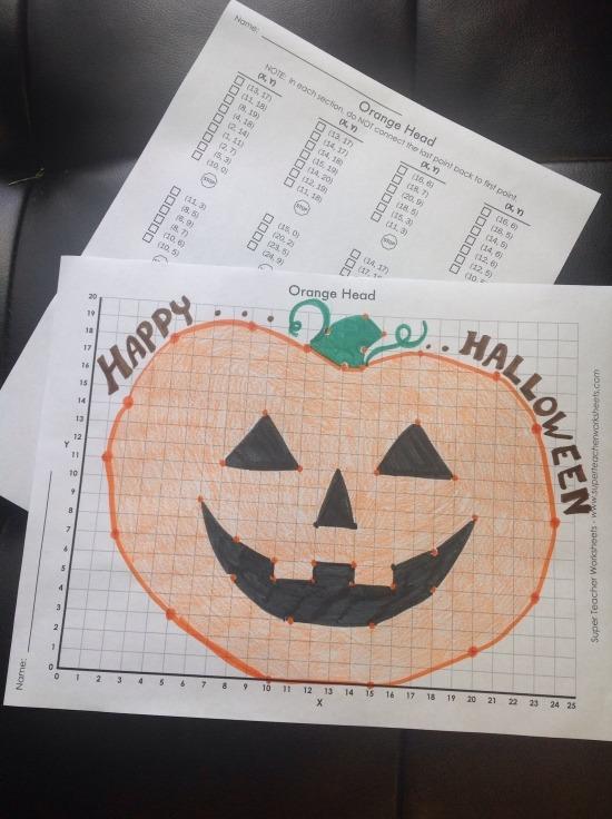 Pumpkin Mystery Graph