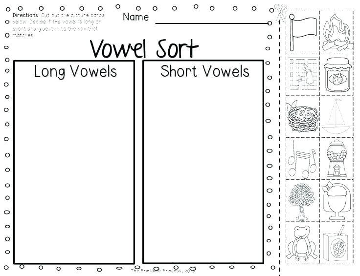 R Controlled Vowel Worksheet Vowels Worksheets For 3rd Grade Kidz