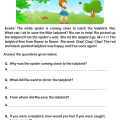 Picture Composition Worksheets For Grade 1