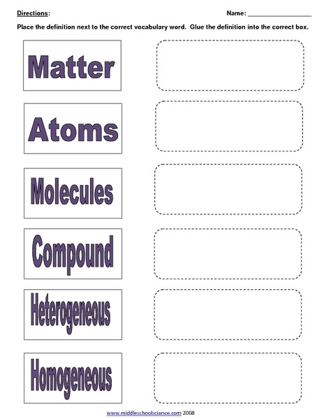 Mixtures And Solutions Worksheets Mixtures And Solutions Worksheet