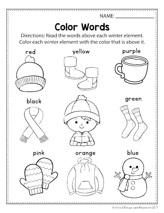 Seasons Worksheets For Kindergarten Fall Season Worksheets