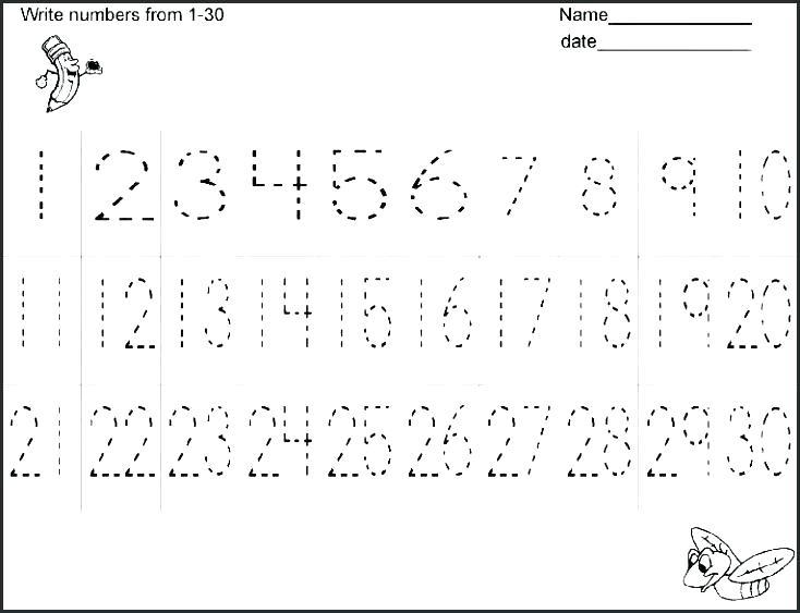 Spelling Numbers 1 To 100 Worksheets Tracing Practice 0 Printable