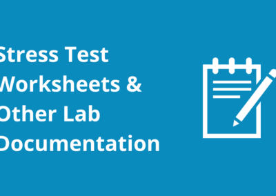 Printable Stress Test Worksheets & (nuclear) Cardiology Lab