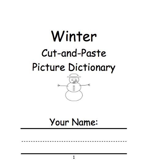 Winter Theme Page At Enchantedlearning Com