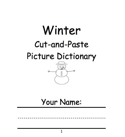 Winter Theme Page At Enchantedlearning Com