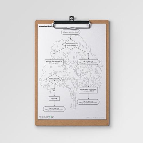 Worry Decision Tree Worksheet (pdf)