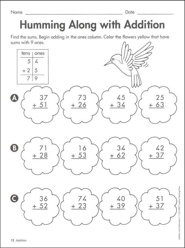 Addition And Subtraction Power Practice, Creative Teaching Press