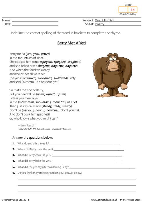 31 Free Download English Worksheets For Year 3 Uk, Uk Worksheets
