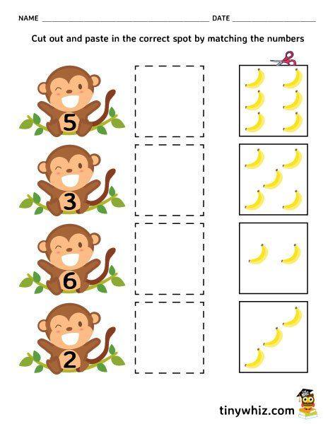 Free Printable Cut And Paste Worksheet For Kindergarten
