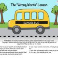School Safety Worksheets For Kindergarten