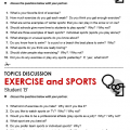 Sports Worksheets For Middle School