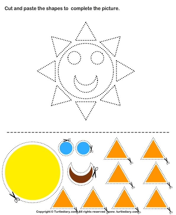 Free Printable Cut And Paste Worksheets For Kindergarten