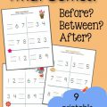 Before And After Worksheets Grade 2