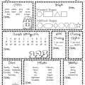 Assessment Worksheets For Kindergarten
