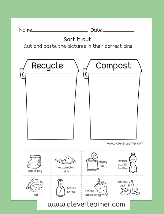 Pin By Clever Learner On Preschool Science Activity Worksheet