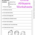 Language Worksheets For Grade 6