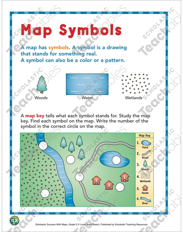 Map Symbols  Map Skills