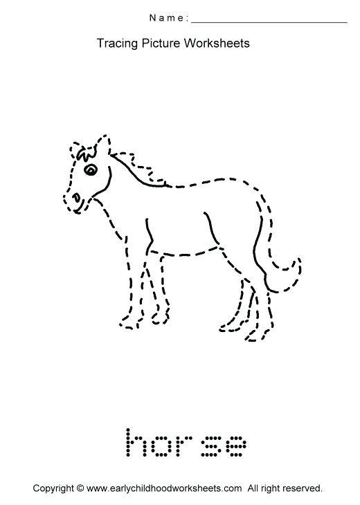 9 Best Images Of Farm Animal Tracing Worksheet Farm Animals Math